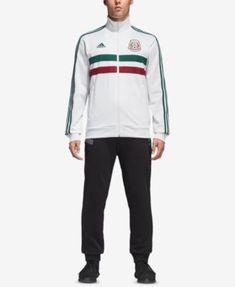 2f6557538491 adidas Men s Mexico Soccer Track Jacket   Reviews - Coats   Jackets - Men -  Macy s