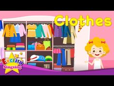 Kids vocabulary - Clothes - clothing - Learn English for kids - English educational video - YouTube