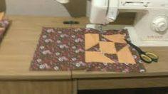 Resultado de imagem para como fazer catavento em patchwork