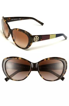 Tory Burch Cat's Eye Sunglasses available at #Nordstrom
