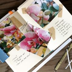 Planning linocut artwork in my sketchbook #linocut #printmaking #sketch #sketchbook #art #orchids