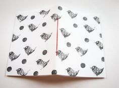 HANDMADE & Hand Bound Pocket NOTEBOOK Journal by emporiumJULIUM