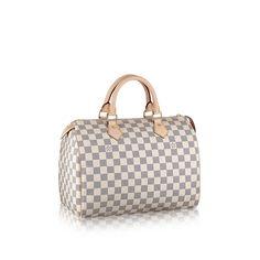 Speedy 30 - Damier Azur Canvas - Handbags | LOUIS VUITTON