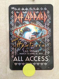 Def Leppard Viva Hysteria Las Vegas 2013