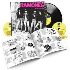 The Ramones -Rocket To Russia - 40th Anniversary Pre-orderWithGuitars