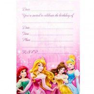Disney Princess Invitations (8pk) $7.95 A070311