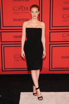 Jessica Chastain de Givenchy - CFDA Awards 2013