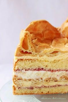 Arabeska : Tort królewski Vanilla Cake, Cooking Recipes, Chef Recipes, Recipies, Recipes