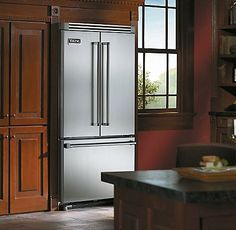 Professional 36 Inch French Door Bottom Freezer Refrigerator - Viking Range Corporation
