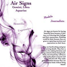 Gemini, Air sign ♊