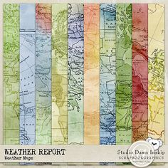 Weather Report Weather Maps Papers By Dawn