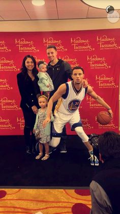 Stephen Curry wax museum