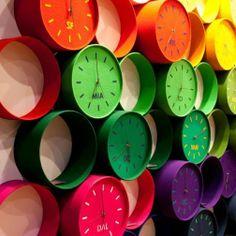 """""""Felt Clocks"""" by Heidi Roth"""