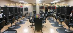 Aspire Hair Salon in San Diego, CA has the #EdgeYouDeserve   Getting a good haircut depends on the salon using good equipment. Period.  Sharpening services can either improve your shears, or totally WRECK them.  see our testimonials online: www.customsharpening.com