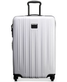 "Tumi V3 Short-Trip 26"" Expandable Hardside Spinner Suitcase - White"