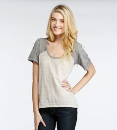 Collette Tee - Tops + Tanks + Tees - Shop By Category - Womens
