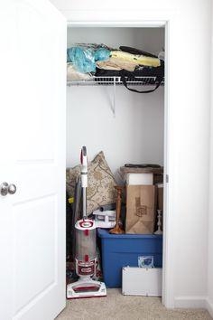 Home Improvement DIY Shelves Product Custom Closet Design, Custom Closets, Closet Designs, Diy Closet Shelves, Closet Organization, Closet Storage, Organization Ideas, Wire Shelving, Diy Door