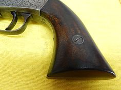 Civil war period .31 caliber 1858 Manhattan revolver Cased   Old Gun Parts and Repair