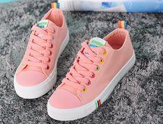 Womens Popular Casual Low-Top Sneakers