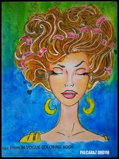 Assignment From Watercoloring Workshop In Vogue Media Koi Watercolors And UNI Posca