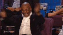 LMAO! GIF - MikeTyson Boxer Laughing GIFs