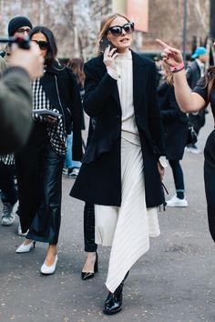 Street style at London's Fall-Winter 2017-2018 Fashion Week: Olivia Palermo
