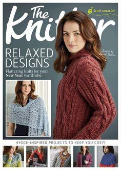 The Knitter №106 2017 - p.80 - long-sleeve yoke, p.102 - long-sleeve yoke buttoned