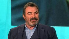 Today\'s special guest is Tom Selleck. Tom Selleck Blue Bloods, Jesse Stone, Cbs All Access, My Guy, Bearded Men, Toms, Tv Shows, Magnum Pi, Cowboys