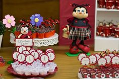 Ladybugs Birthday Party Ideas | Photo 1 of 18