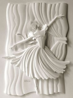 """Designer/illustrator Carlos Meira has crafted a large number of paper sculptures for books, magazines, and advertising campaigns. See also: """"Sculpting Paper into Intricate Building Structures"""" and """"Characters made from Paper."""" Photos and artwork © Carlos Meira Link via Behance Network"""