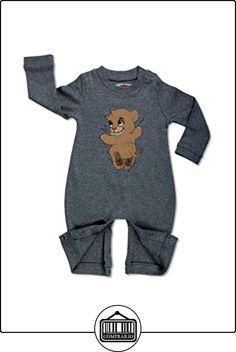 Cuda Boo, Pijama de una pieza larga razón manga: Cachorro de león, Grey (Gris) 3 - 6 meses  ✿ Regalos para recién nacidos - Bebes ✿ ▬► Ver oferta: http://comprar.io/goto/B00TQTDHRE