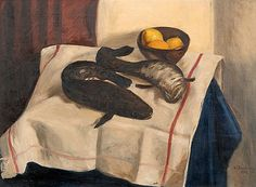 The Athenaeum - Still life with fishes (Hugo Simberg - ) Nordic Art, Scandinavian Art, Compleat Angler, Mermaid Purse, Artist And Craftsman, Buy Posters, Still Life, Oil On Canvas, Arts And Crafts