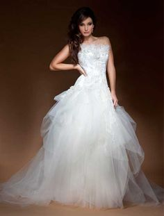 All Wedding Gowns : Gossamer  Tulle placement