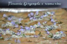 focaccia gorgonzola rosmarino