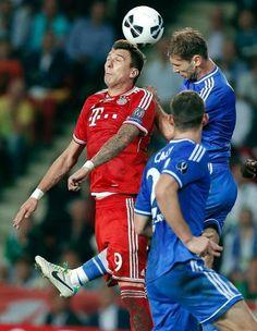 Bayern's Mario Mandzukic of Croatia