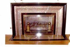Fireplace Glass Doors, Santa Fe Plaza, Door Tags, Hermosa Beach, Fireplace Accessories, Custom Glass, Custom Design, Traditional, Antiques