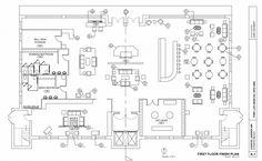 Beautiful Hotel Lobby Floor Plan With Hotel Design Development Drawings Autocad