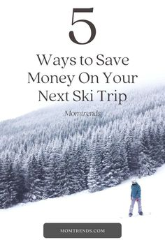 Skiing can be expensive, get our pro tips for cutting down on costs for your winter adventures. Best Places To Travel, Ways To Save Money, Travel With Kids, Four Seasons, 5 Ways, Saving Money, Skiing, Adventure, Fun