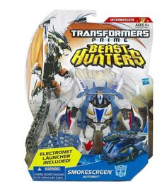 Hasbro Transformers Prime - Beast Hunters - Deluxe Class, Smokescreen Action Figure for sale online Transformers Bumblebee, Hasbro Transformers, Transformers Prime, Cars Characters, Transformers Action Figures, Destiny's Child, Toy Sale, Robot, Beast