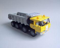 Tatra 813 Dump truck  Lego Tatra 813 8x8 short cab, one of my favourite trucks ;)
