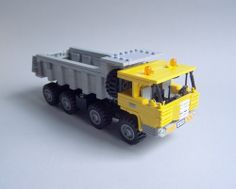 Tatra 813 Dump truck  Lego Tatra 813 8x8 short cab, one of my favourite trucks ;)