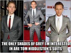 Fifty shades of tom hiddleston