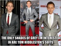 Fifty shades of tom hiddleston