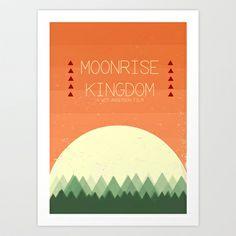 Moonrise Kingdom Art Print by Courtney Vlaming - $15.00