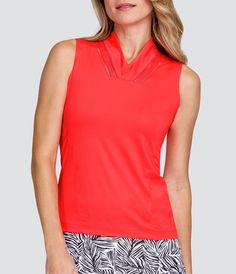 Check out what Loris Golf Shoppe has for your days on and off the golf course! Tail Ladies & Plus Size Kimber Sleeveless Golf Shirt - PALM COAST (Aurora)