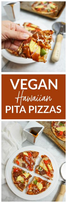 Vegan Hawaiian Pita
