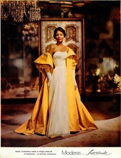 Modess ad, Ebony magazine 1960