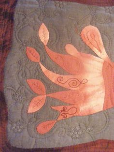 Detalle, Art Quilt