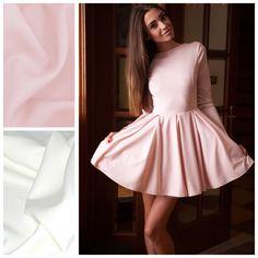 Sukienka LADY Rozmiary: xs,s,m,l Kolory: ecru, pudrowy róż Cena: 269 PLN  https://www.facebook.com/POQASH/
