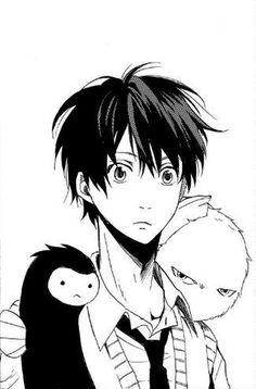 Manjiro , Hanae and Fuzzy | Fukigen Na Mononokean #aychan-orimangacrop